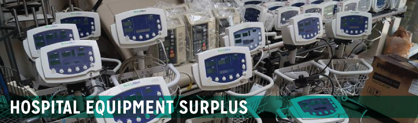 Hospital Equipment Surplus