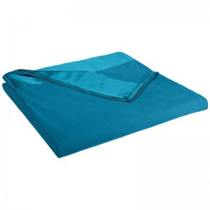 Blanket Thermal/Sprd 74X96 Teal Ea